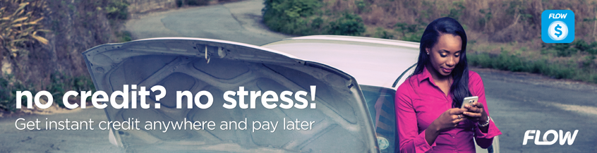 No Credit? No Stress! Flow Lend - Get instant credit anywhere and pay later