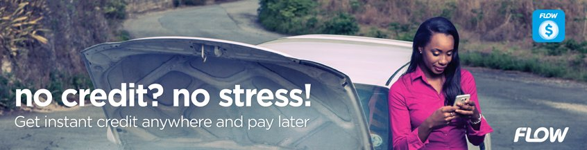 no credit? no stress! - Flow Lend - Get instant credit anywhere and pay later