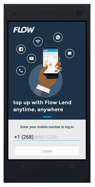Flow Lend mobile login