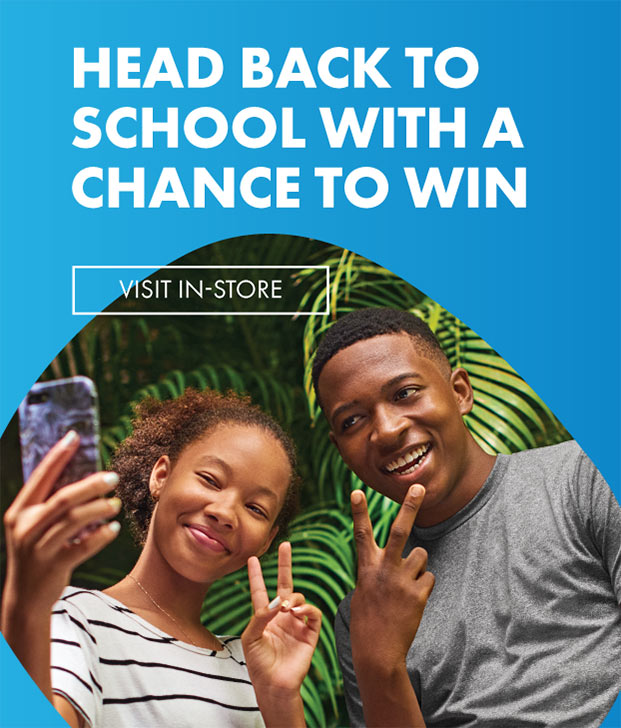 Head Back to School with a chance to win