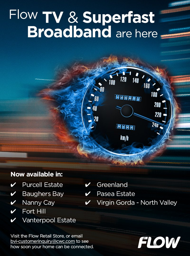 Flow TV & Superfast Broadband are here.