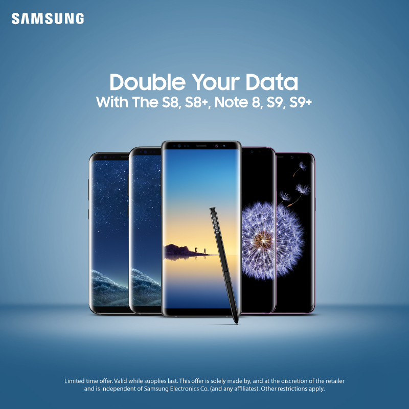 Samsung S8 Double Data