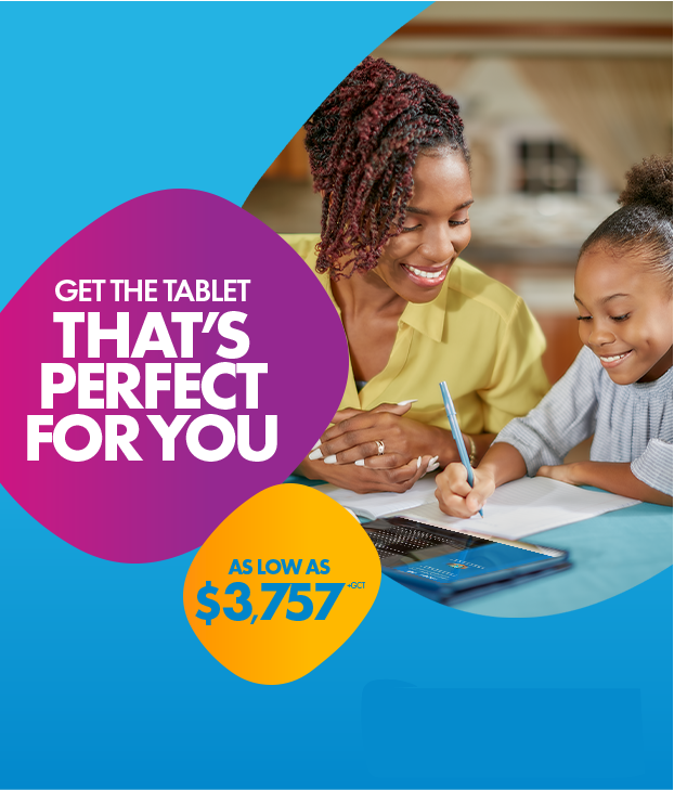 Get the tablet that perfect you