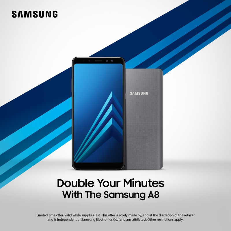 Samsung A8 Double minutes