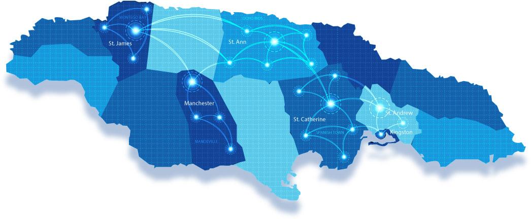 Flow | Jamaica | 4G/LTE Digicel Coverage Map on