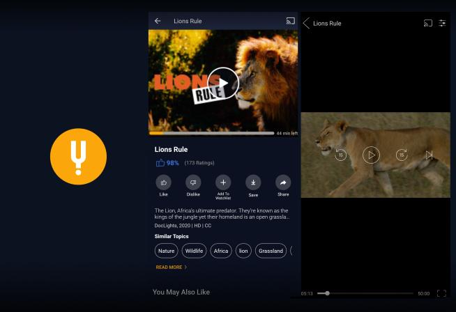 Watchlist feature